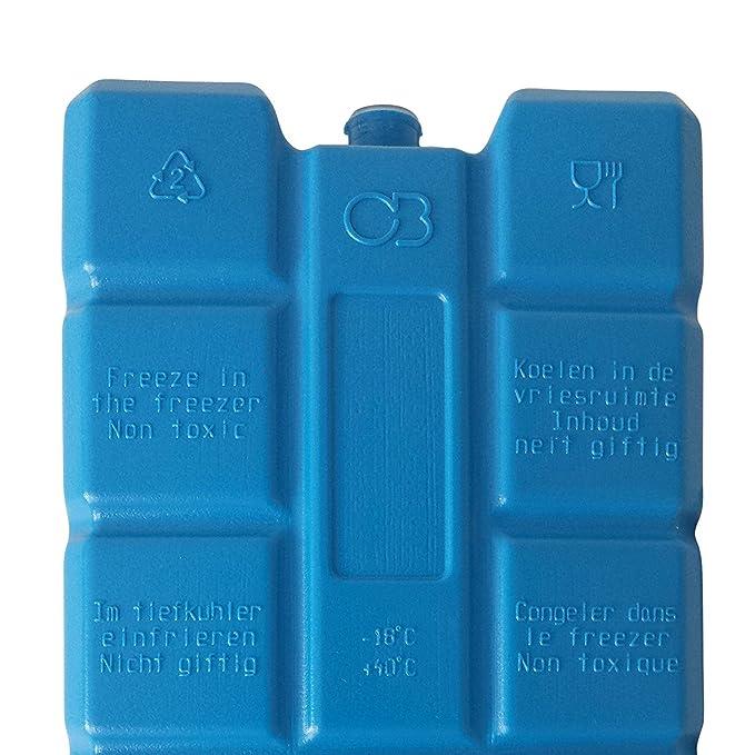 5 pièces de blocs de glace congélateur cool pack glacière pour camping