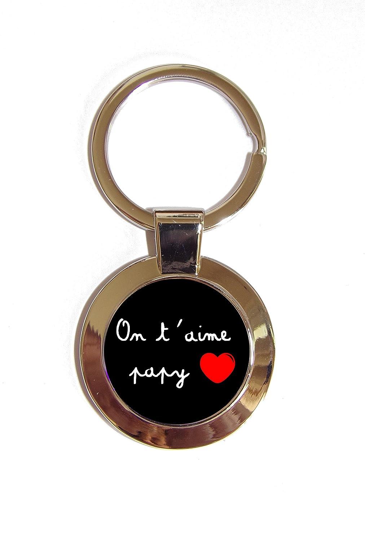 Porte clé 'on t'aime papy' sp8