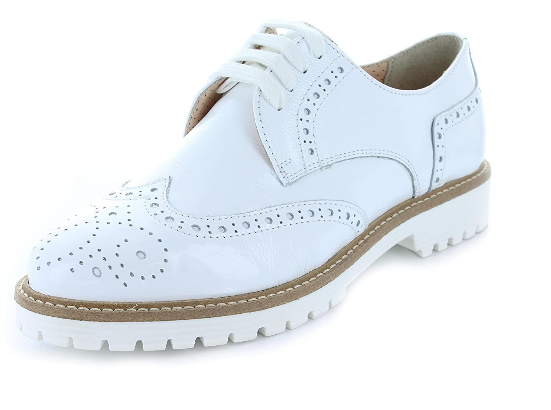 Maria Verturi - Zapatos con Cordones Mujer 39 EU Weiß