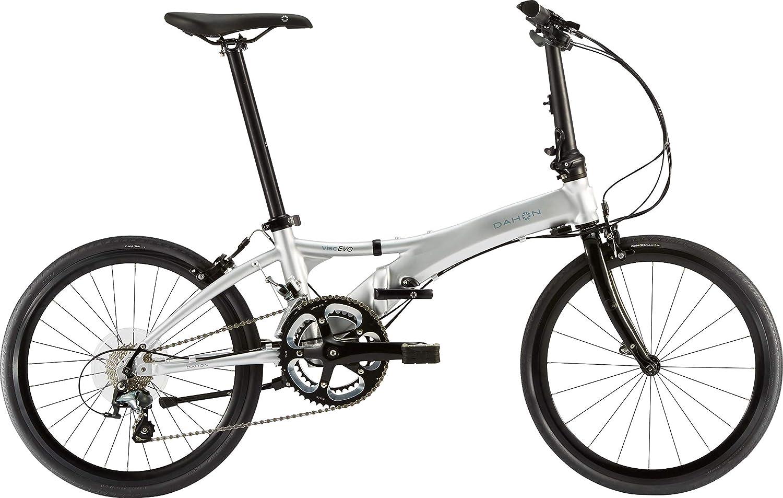 ダホン(DAHON) Visc EVO 2x10段変速 折りたたみ自転車 19VISCSL00 ブライトシルバー   B07G178CRM