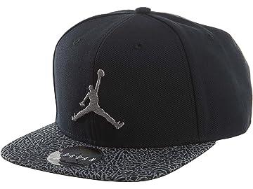 c6c32228034304 Nike Mens Air Jordan Elephant Bill Snapback Hat Black Dust 834891-010