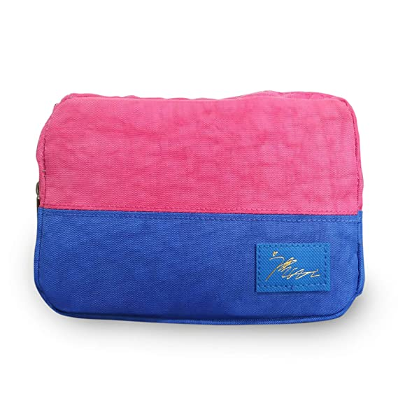 SUKHAD Hanging Travel Cosmetics and Toiletry Pouch