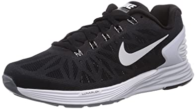 uk availability f4674 d74f7 Nike Wmns Nike Lunarglide 6 Sz 5 Womens Running Shoes Black New In Box