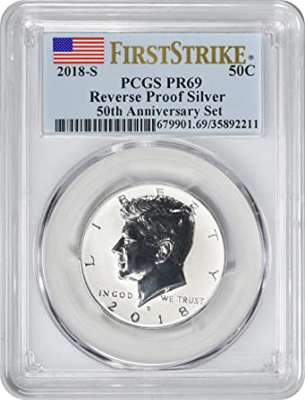 2019 P Apollo 11 50th Anniversary Silver Dollar PCGS PR69 First Strike