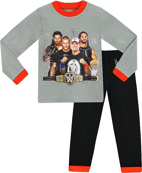 WWE - Pijama para Niños: Amazon.es: Ropa y accesorios