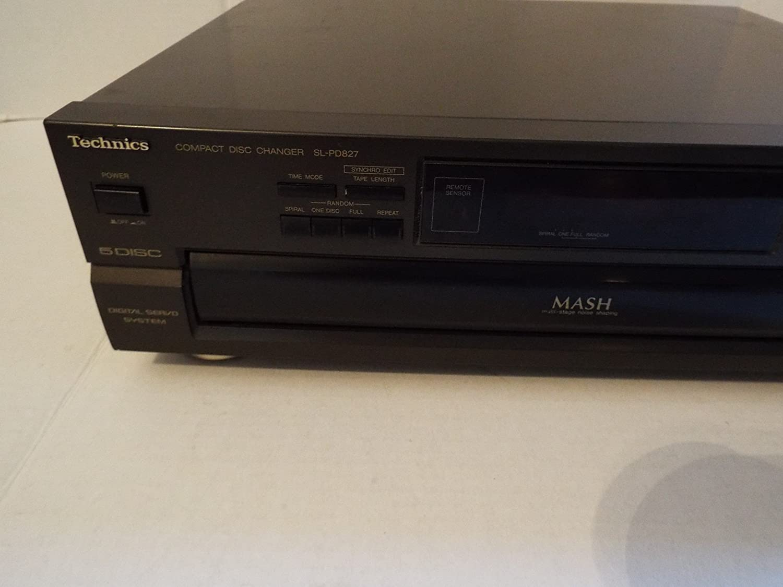 Amazon.com: Technics sl-pd827 5 disco reproductor de CD ...