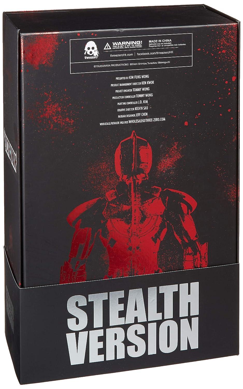 Stealth Version 1 6 Scale Action Figure Diamond Comic Distributors 3Z0032SV ThreeZero Heros X Ultraman Suit