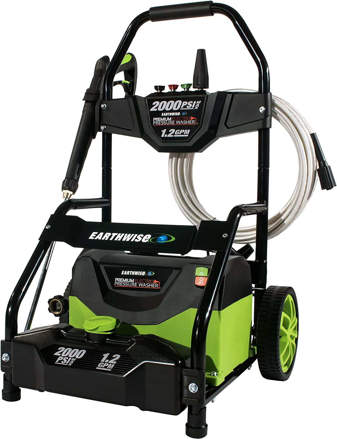 Amazon.com : Earthwise PW20004 2000 PSI 1.2GPM 13-Amp Electric Pressure Washer : Garden & Outdoor