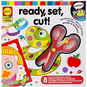 powerful Little Hands Ready, Set, Cut!