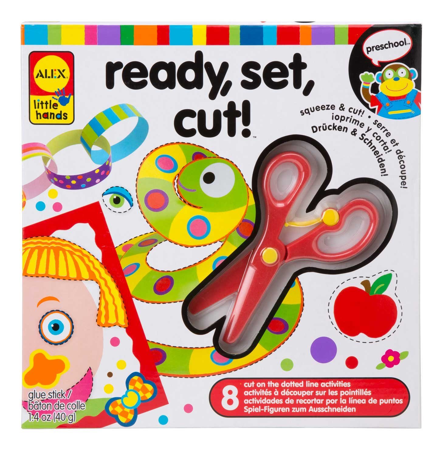 Amazon Com Alex Discover Ready Set Cut Toys Games