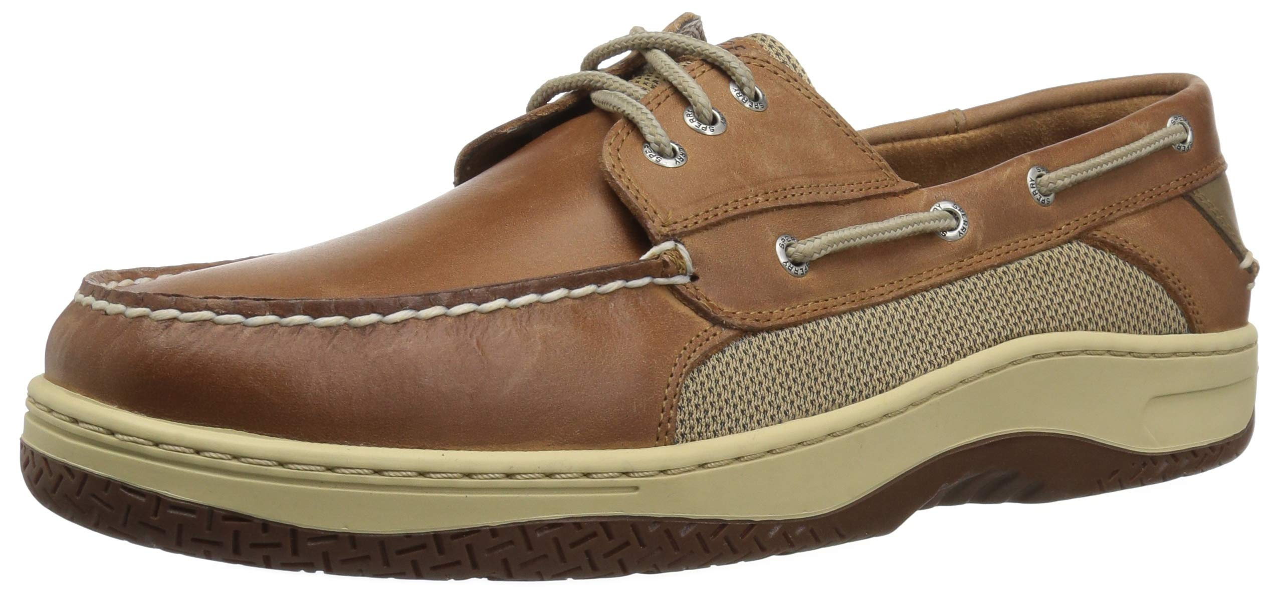 Sperry Men's Billfish 3-Eye Boat Shoe Dark tan 13 XW US