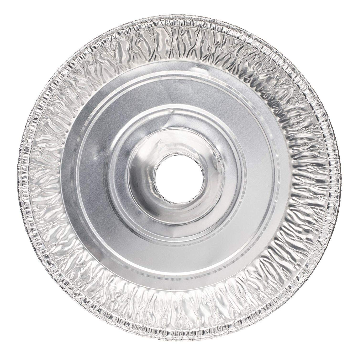 Disposable Round Cake Baking Pans - Aluminum Foil Bundt Tube Tin Great for Baking Decorative Display, Parties (20 Pans, 8-inch Round) by Plastible (Image #2)