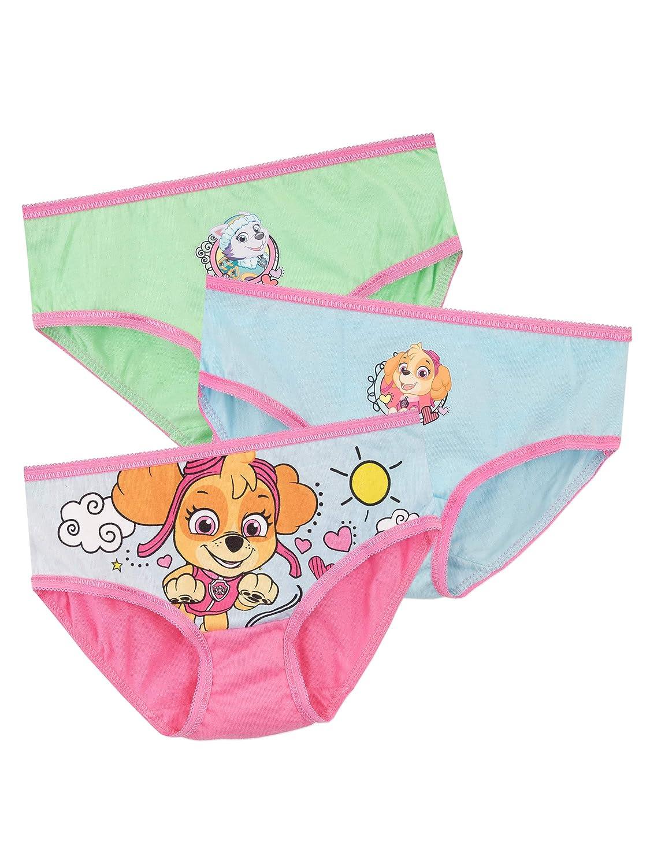 Paw Patrol Girls Skye and Everest Underwear 3 Pack