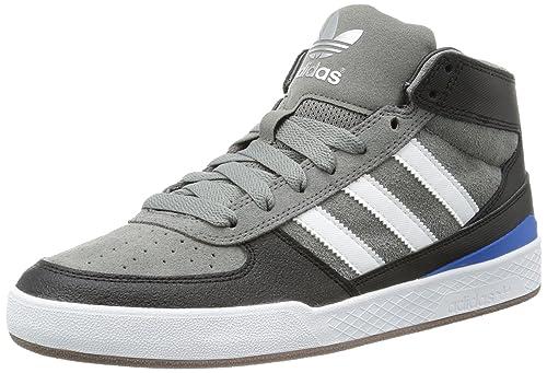 adidas Forum X, Zapatillas de Estar por casa para Hombre, Gris-Grau (