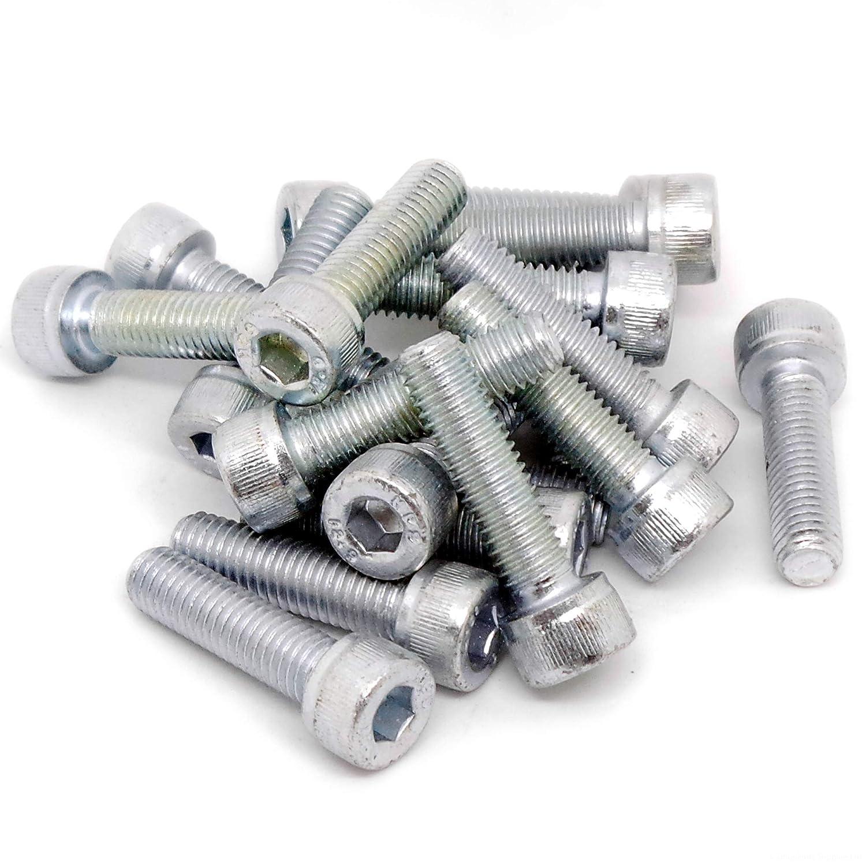 M8 (8 mm x 30 mm) esagonale bulloni di vite –  acciaio (confezione da 20) Singularity Supplies Ltd