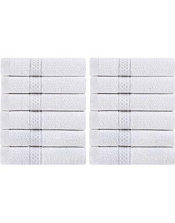 Toallas lujosas de Utopia Towels, 33 x 33 cm, pack de 12 unidades
