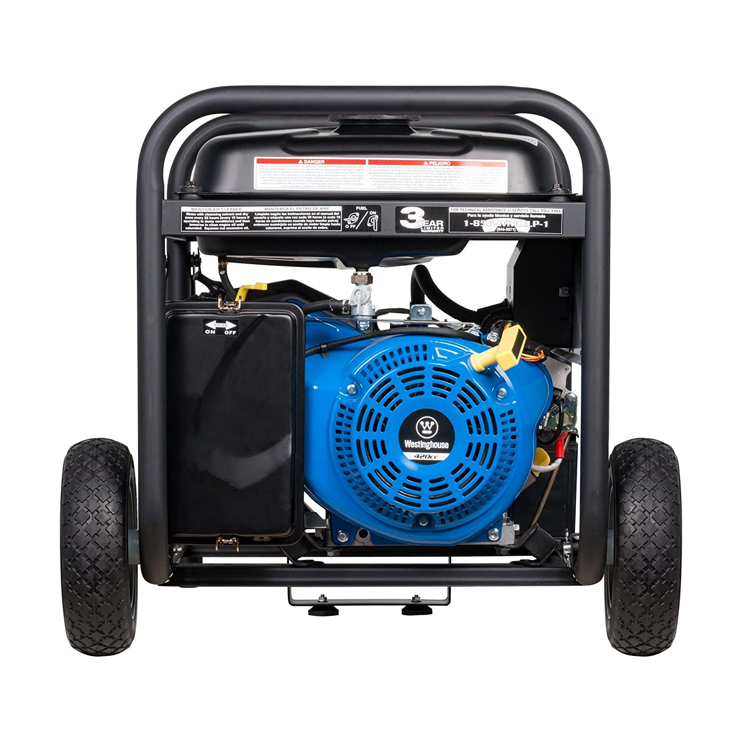 Amazon Westinghouse WH7500E Gas Powered Portable Generator