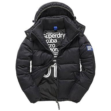 8c02645fa7e5a0 Superdry Mens M50020YNF1 Caban Blazer - Grey - XXX-Large: Amazon.co.uk:  Clothing