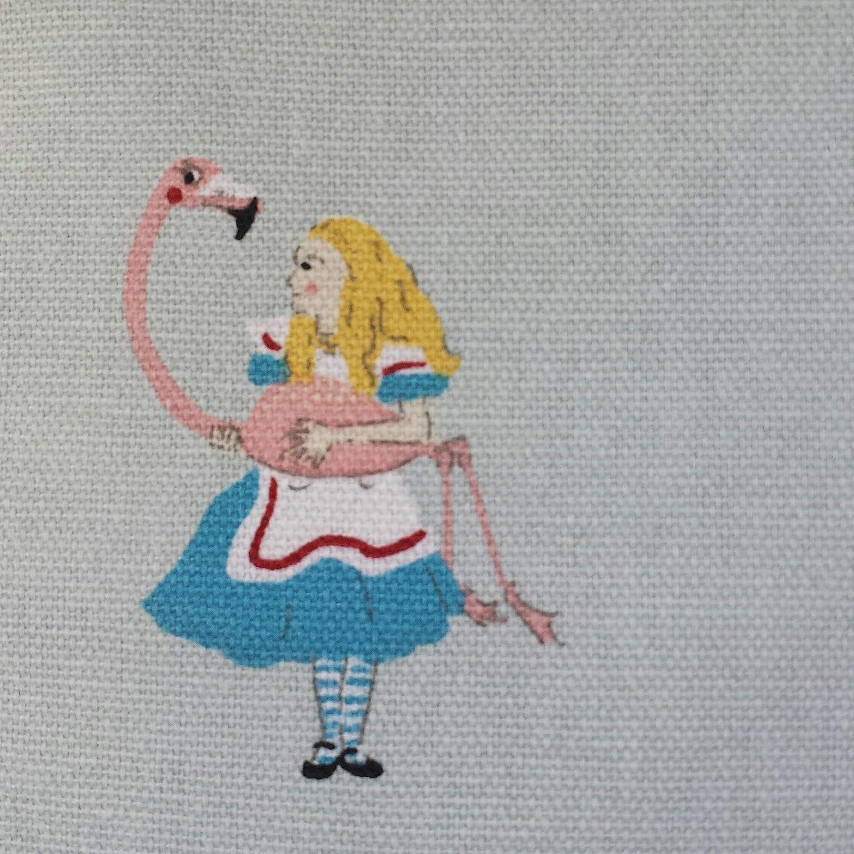 Cushion Cover in Sophie Allport Alice in Wonderland 14 16 18 20 22 24