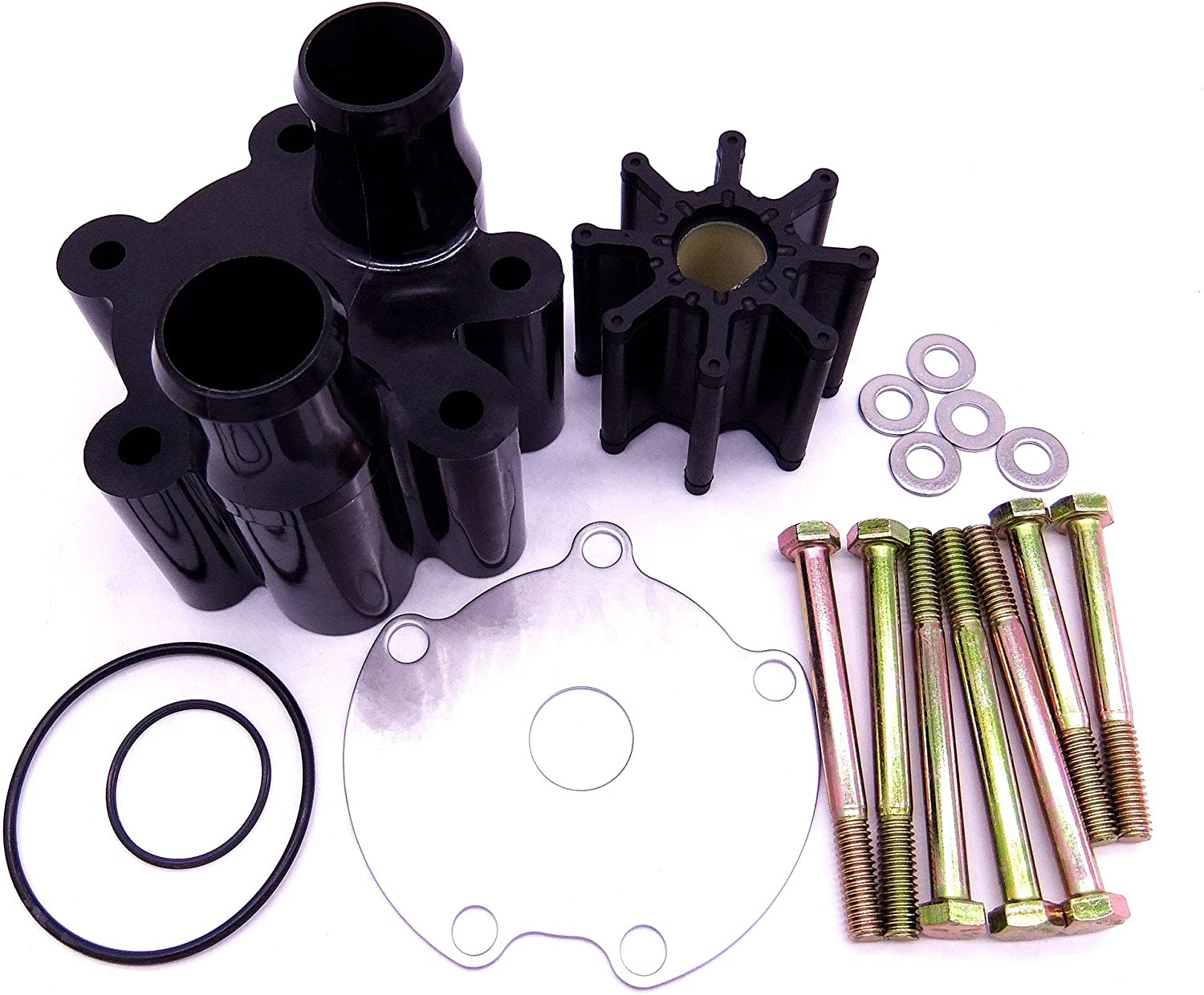 Water Pump Housing /& Impeller Repair Kit Replaces for Mercruiser Bravo 46-807151A14,by LIYYOO