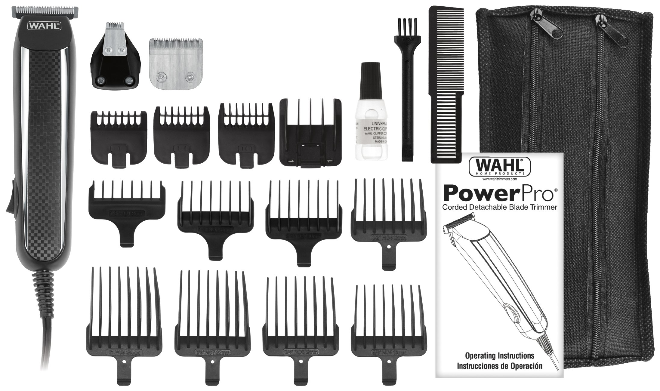 galleon wahl power pro corded grooming kit 9686. Black Bedroom Furniture Sets. Home Design Ideas