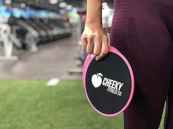 Amazon.com: Cheeky Fitness - Juego de 2 deslizadores para ...