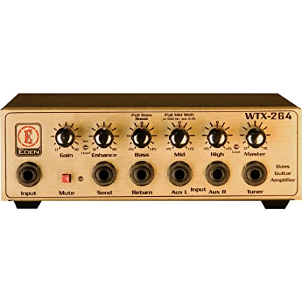 Eden WTX264 World Tour Travel Bass Amp Head