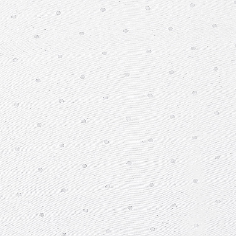 Deconovo Lot de 2 Rideaux Voilages a Oeillet Double Voilage Gris Jacquard Orn/é des Motifs Petits Pois pour Salon Decoration Design G/éopolitique 140x138cm