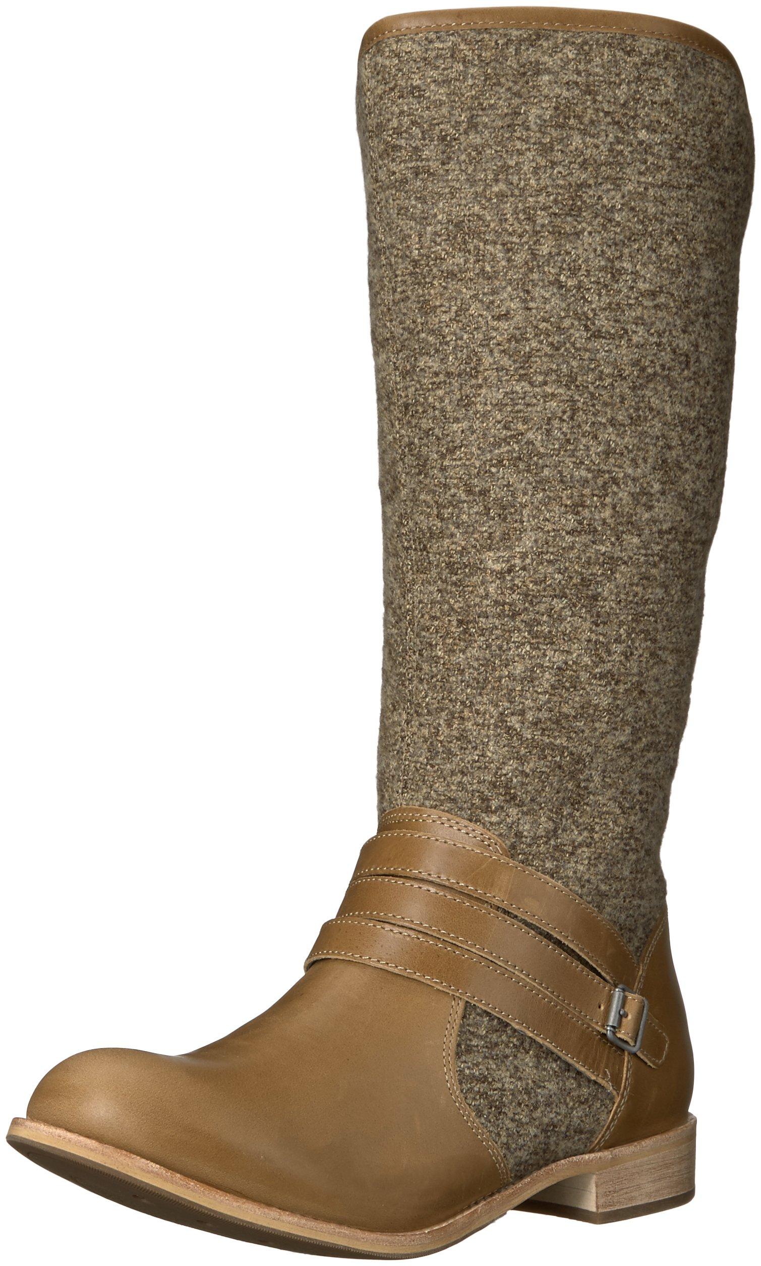 Caterpillar Women's Sabrina Wool Boot, Womens Warm Sand, 6.5 M US