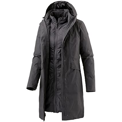 b8d558f35e THE NORTH FACE Damen W Suzanne Triclimate Jacket Jacke Grau-Rabbit Grey, XS