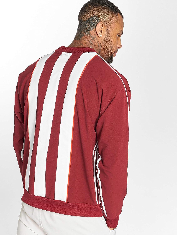 adidas Auth Stripe Crew: Amazon.co.uk: Sports & Outdoors