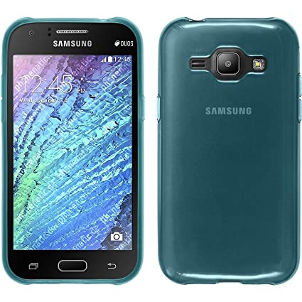 Amazon.com: Carcasa de silicona para Samsung Galaxy J1 (2015 ...