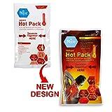 "Medpride Instant Hot Packs  5"" x 9"" Packs, 24-Pack  Disposable, Instant Heating Bag for Sore Neck, Shoulder, Arm, Leg Muscles & Menstrual/Abdomen Discomfort Relief  Long Lasting Heat, Medical-Grade"