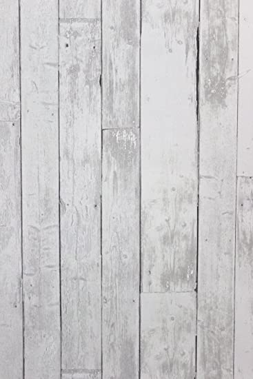 vlies tapete antik holz rustikal hell grau verwittert amazon de kuche haushalt
