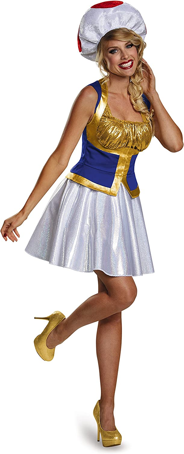 Disguise Women's Toad Dress Costume