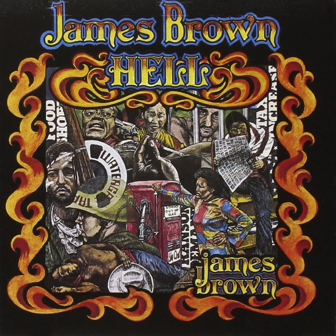 CD : James Brown - Hell
