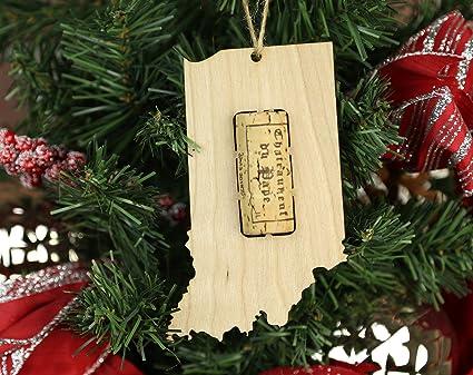 Amazon Com Wooden Shoe Llc Indiana Wine Cork Christmas Tree