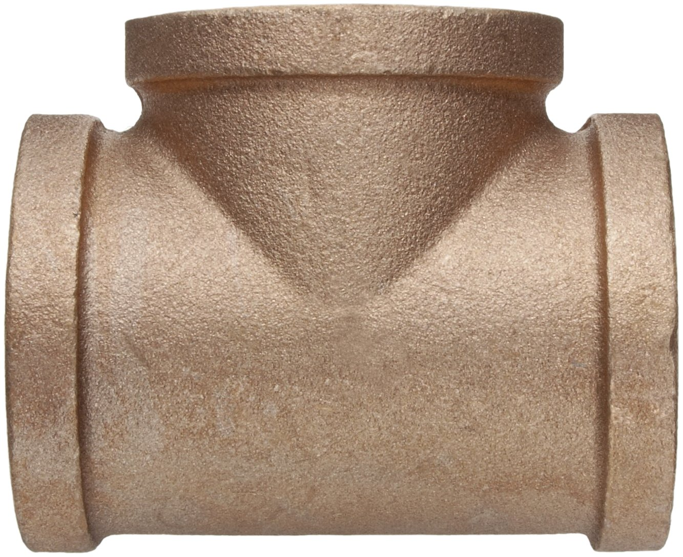 Class 125 Lead Free Brass Pipe Fitting 1-1//4 NPT Female Tee