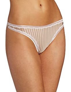64202462cbd2 Amazon.com: Warner's Women's No Pinching No Problems Lace Thong ...