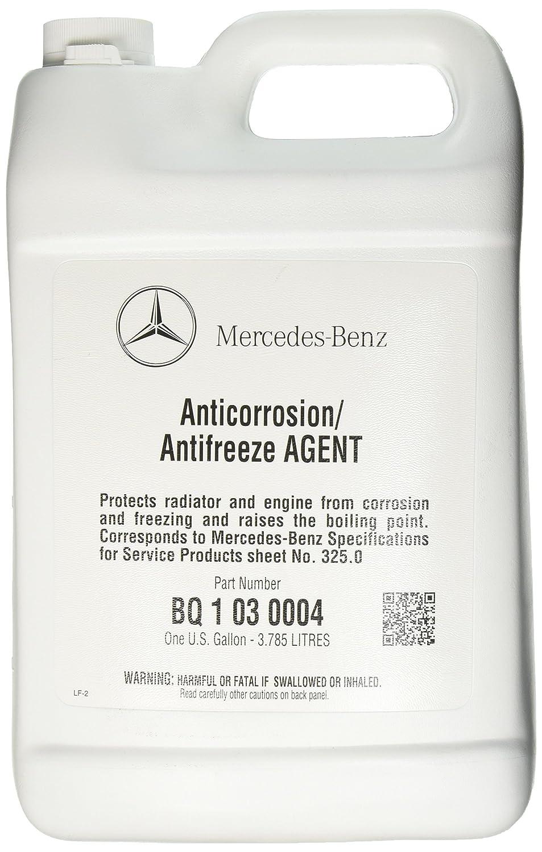Mercedes Benz Engine Coolant Antifreeze 1 Gallon Blue Corrosion Around Color Automotive