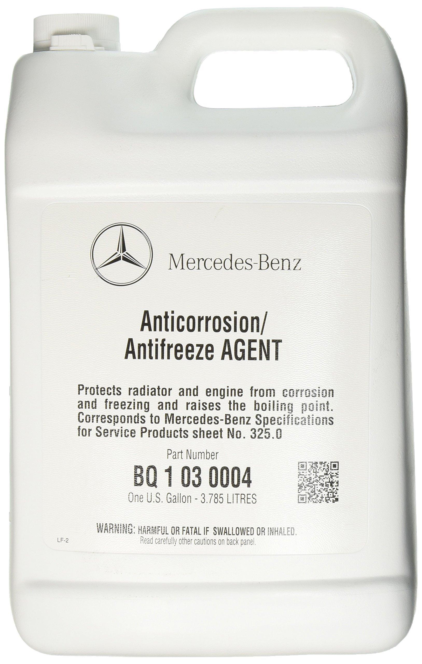 Mercedes Benz Engine Coolant / Antifreeze (1 Gallon) (BLUE Color) by Mercedes Benz