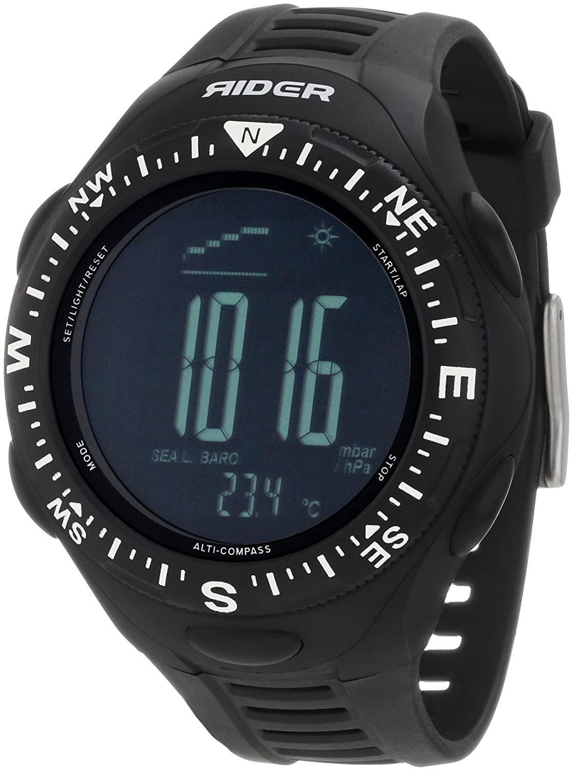 Rockwell Time Unisex RIR102 Rider Multi-Function Digital Sports Uhr