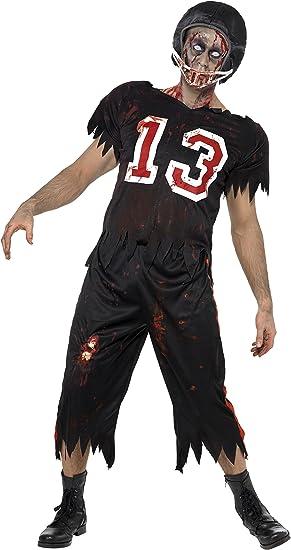 Smiffys - Disfraz de Jugador de fútbol Americano Zombie para ...