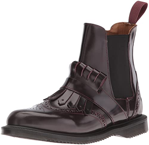 Dr Mujer es Eur Y Botas Amazon Zapatos Granate 37 Martens Tina YEf8vEqwr
