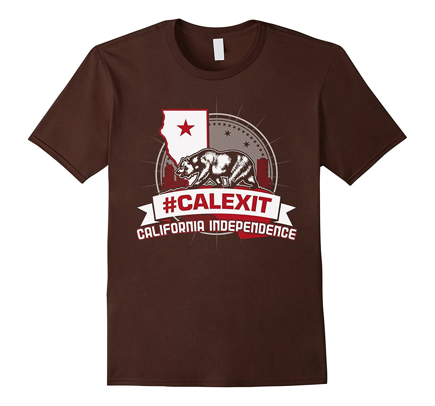 #CALEXIT California independence T-shirts Tshirt-CL