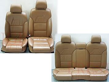 Amazon.fr : Audi A8 D3 Tan Amaretto Cuir Marron Intérieur confort sièges