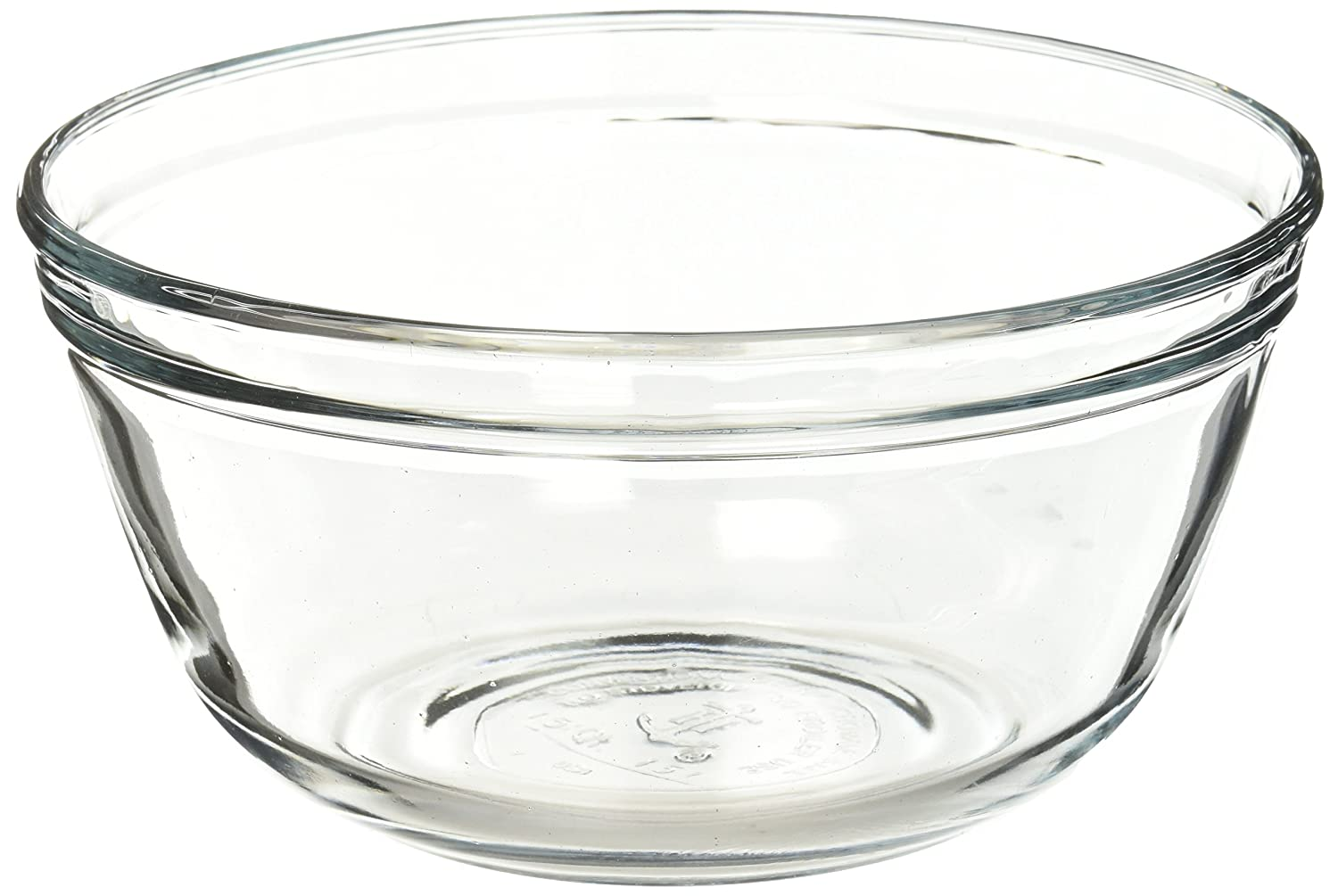 Anchor Hocking 77984 1 Quart Glass Mixing Bowl, Clear Fox Run Craftsmen