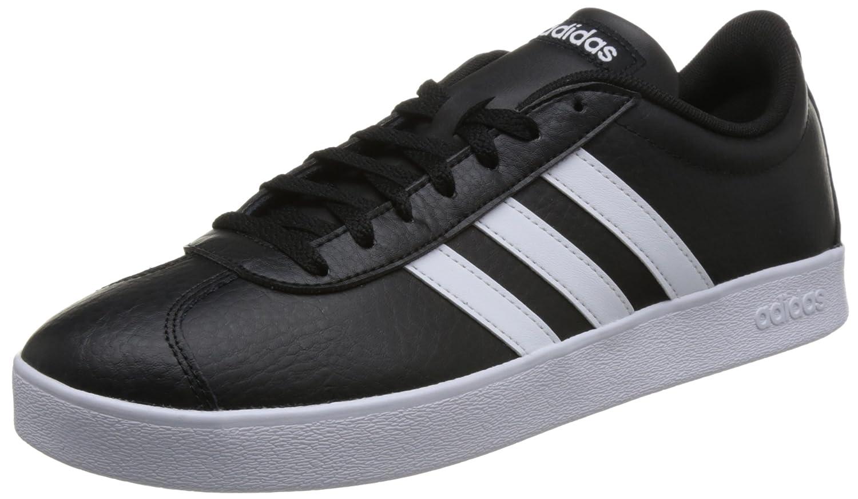 Adidas VL Court 2.0, Zapatillas de Entrenamiento para Hombre 46 2/3 EU Negros