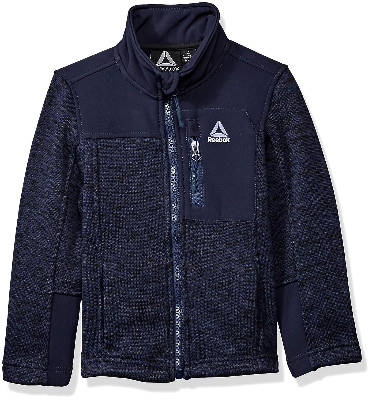 Reebok Boys Active Sweater Fleece Jacket O/_RB355H