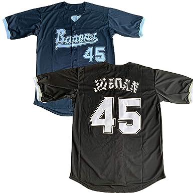 pretty nice da090 918f6 Amazon.com: #45 Michael Birmingham Barons Stitched Baseball ...